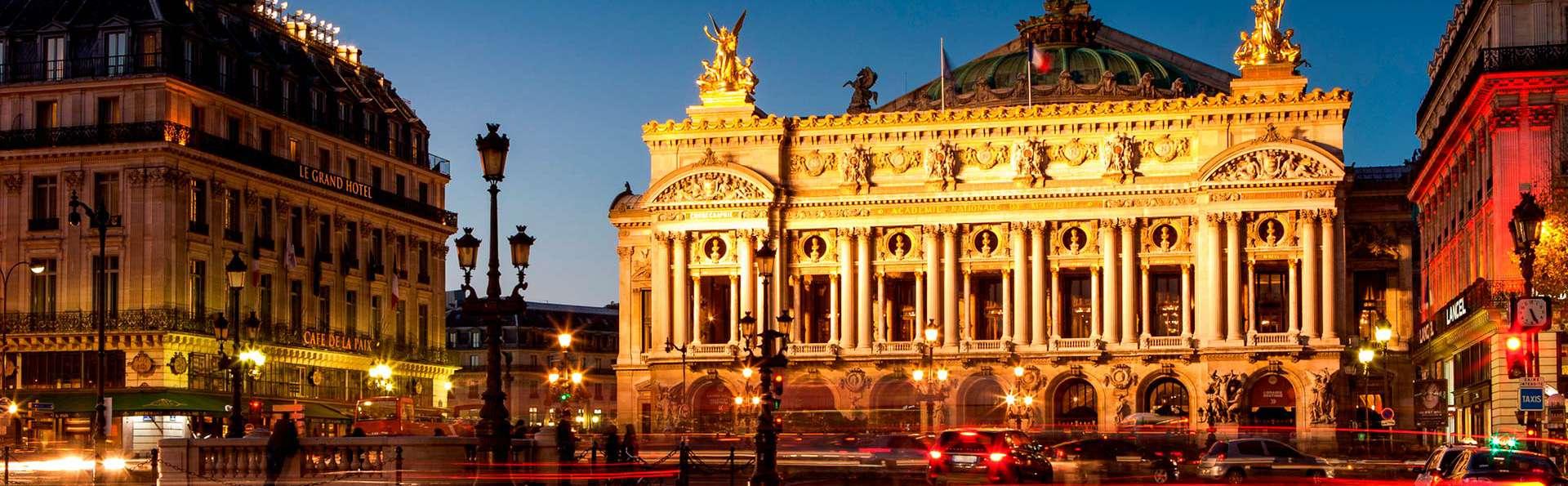 Découverte des charmes de Paris avec accès à l'espace détente