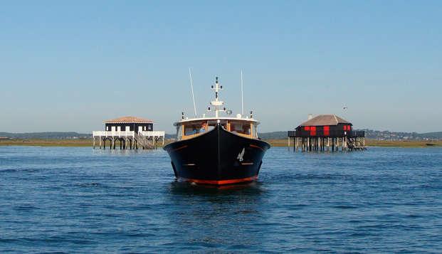 Descubre el estanque de Arcachon en barco