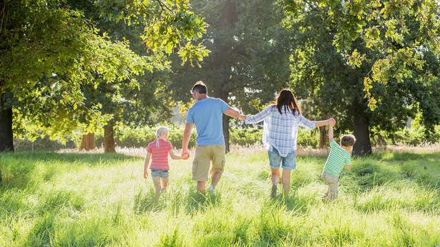 Niños de 3 a 10 años: viajan con un 30% de descuento