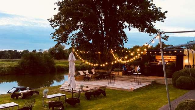 Geniet van een romantisch verblijf in dit charmante hotel nabij Gent