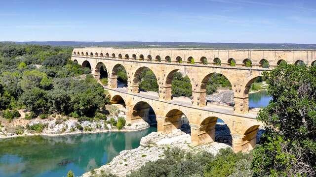 Visita del puente del Gard para 2 adultos