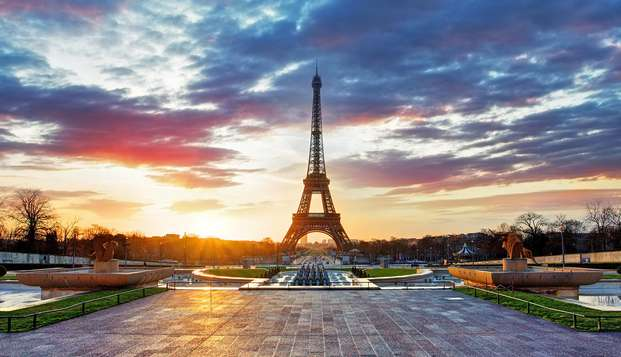 Estancia ideal delante del Parque de las Exposiciones de París