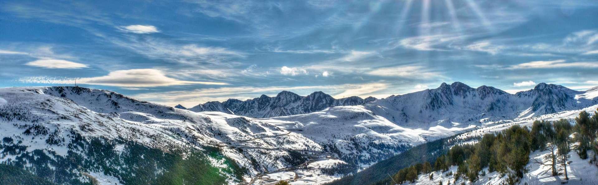 Air pur et paix dans les Pyrénées d'Andorre