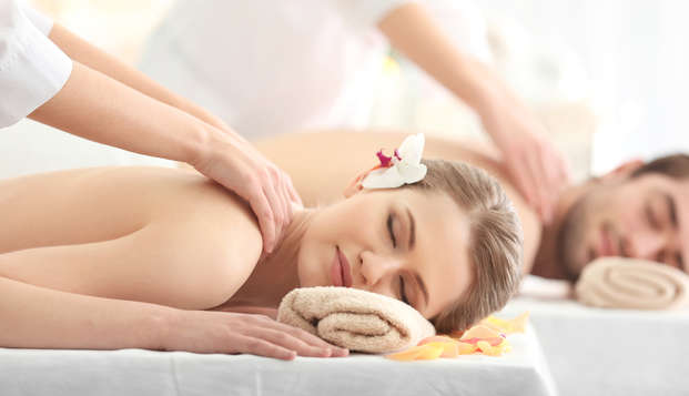 Escapade romantique avec massage, au cœur du massif des Cimes (à partir de 2 nuits)