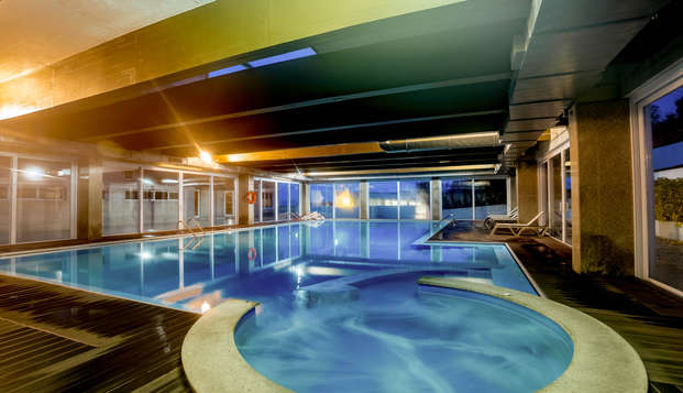 Escapada relax con Cena y niño gratis en un hotel con Spa en Covilhã