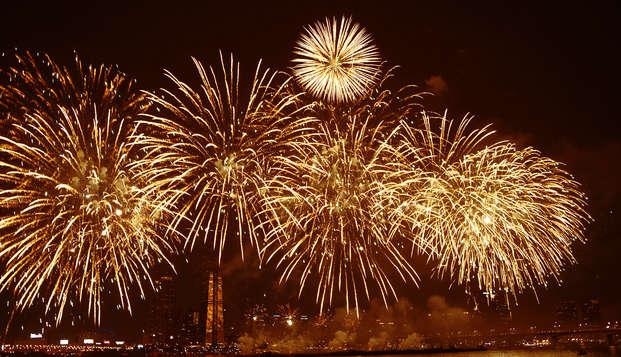 Vivez un réveillon gourmand avec dîner et brunch pour la nouvelle année dans un château de Bourgogne