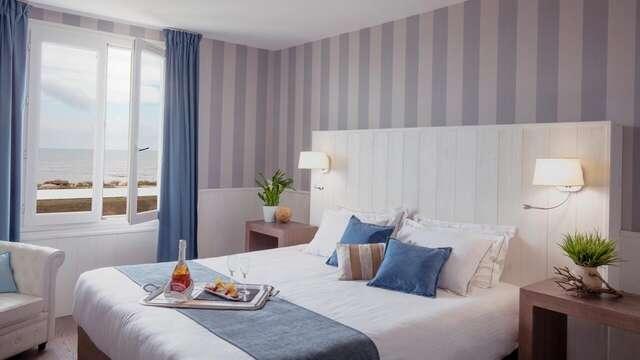 1 nuit en chambre double confort Vue mer pour 2 adultes