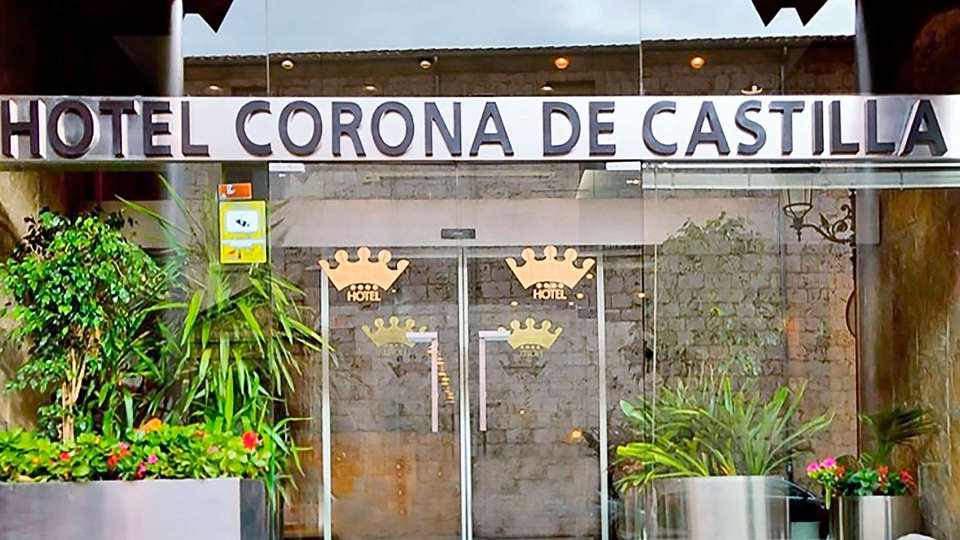 Hotel Sercotel Corona de Castilla - EDIT_entrance.jpg