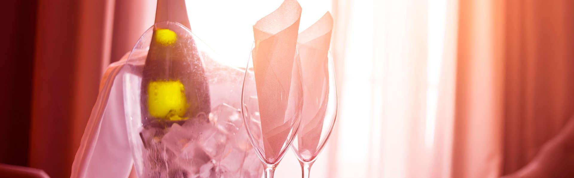 Vive l'amour avec du cava et une chambre romantique à De Panne (à partir de 2 nuits)