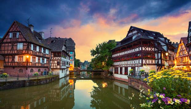 Ambiance moderne à Strasbourg