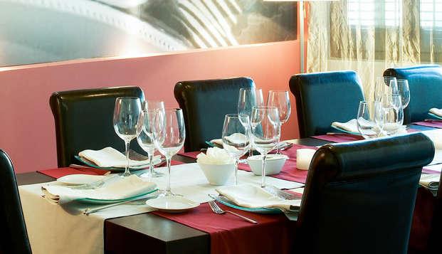 Escapade Relax & Gourmet à Solsona avec accès au spa et dîner inclus