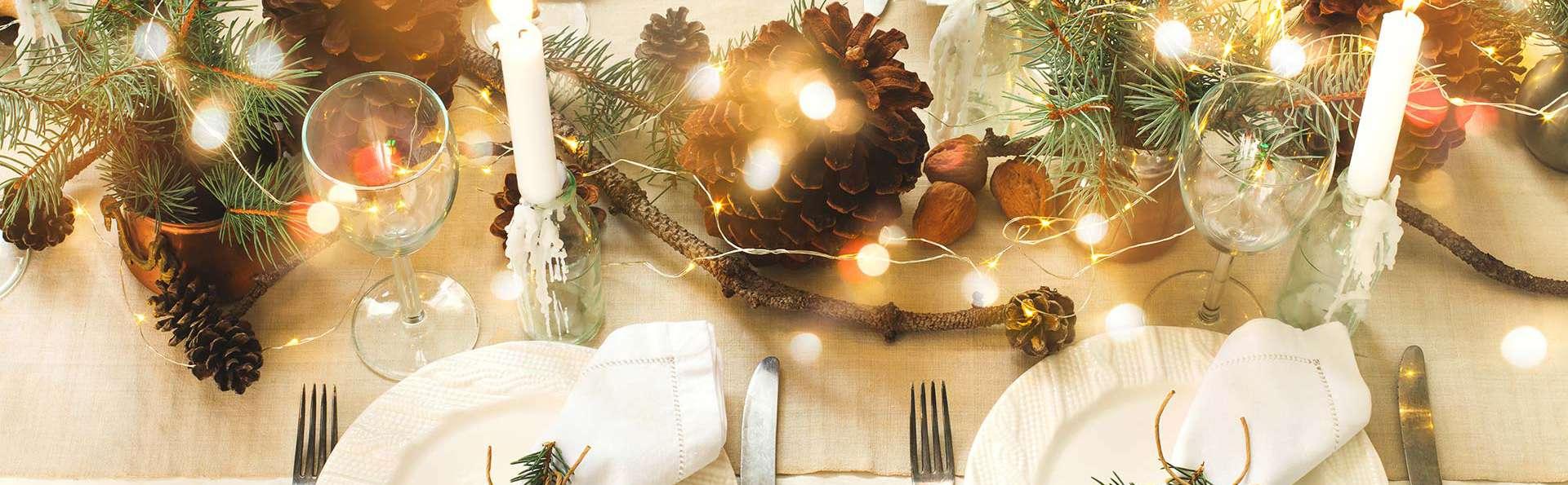 Nouvel An : dîner 5 plats d'exception dans un cadre de charme pour le réveillon