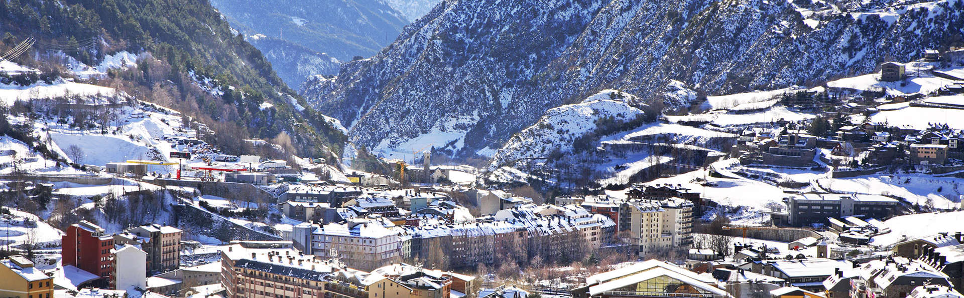 Aire puro en la naturaleza de Andorra