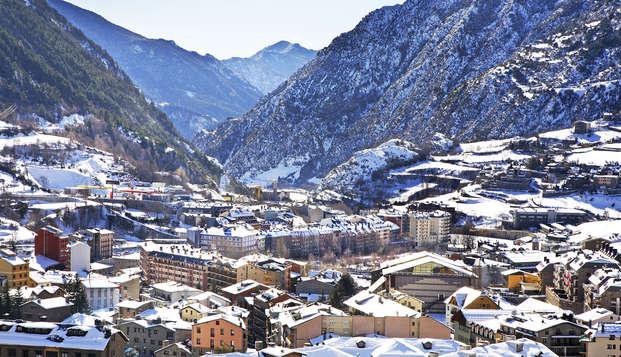 Air pur dans la nature d'Andorre
