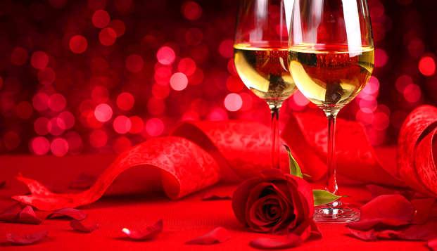 Escapade pour amoureux dans une chambre romantique, avec dîner et spa à Majorque