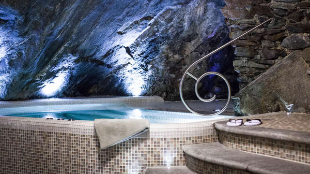 Détendez-vous dans un spa de la Vallée d'Aoste dans le village de Bard