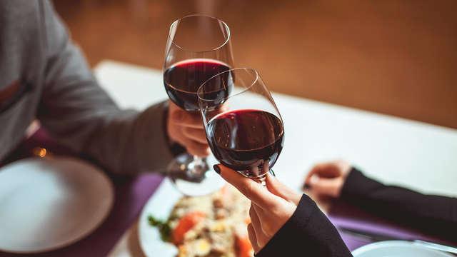Romantico soggiorno con cena a un passo dalla Val d'Orcia! (da due notti)