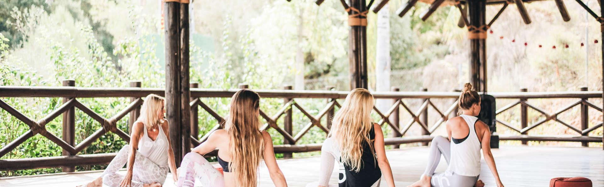 Escapade détente avec cours de yoga et dîner à Malaga