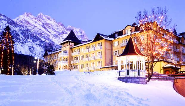 Séjour dans un élégant hôtel 5* à Cortina