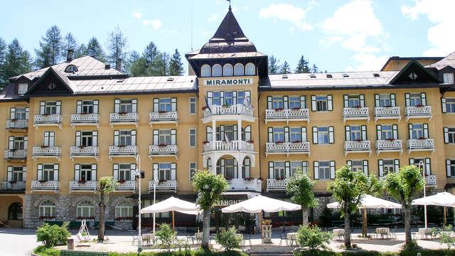 Elegante rifugio di benessere in montagna a Cortina d'Ampezzo in mezza pensione