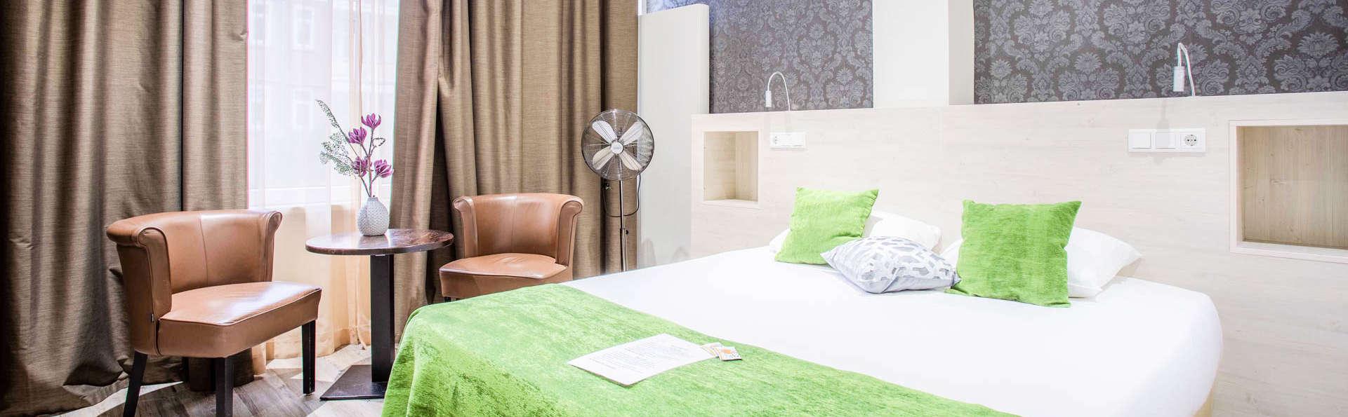 Séjournez dans une chambre de luxe au centre de Rotterdam