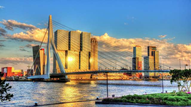 Merveilleux séjour au cœur de Rotterdam dans une chambre triple