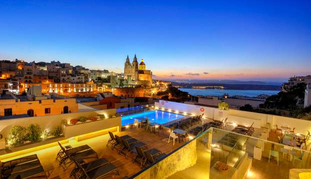 Zonnig uitje in het pittoreske dorpje Mellieha op Malta (vanaf 3 nachten)