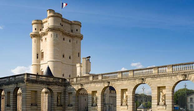 Estancia cultural con visita al castillo de Vincennes