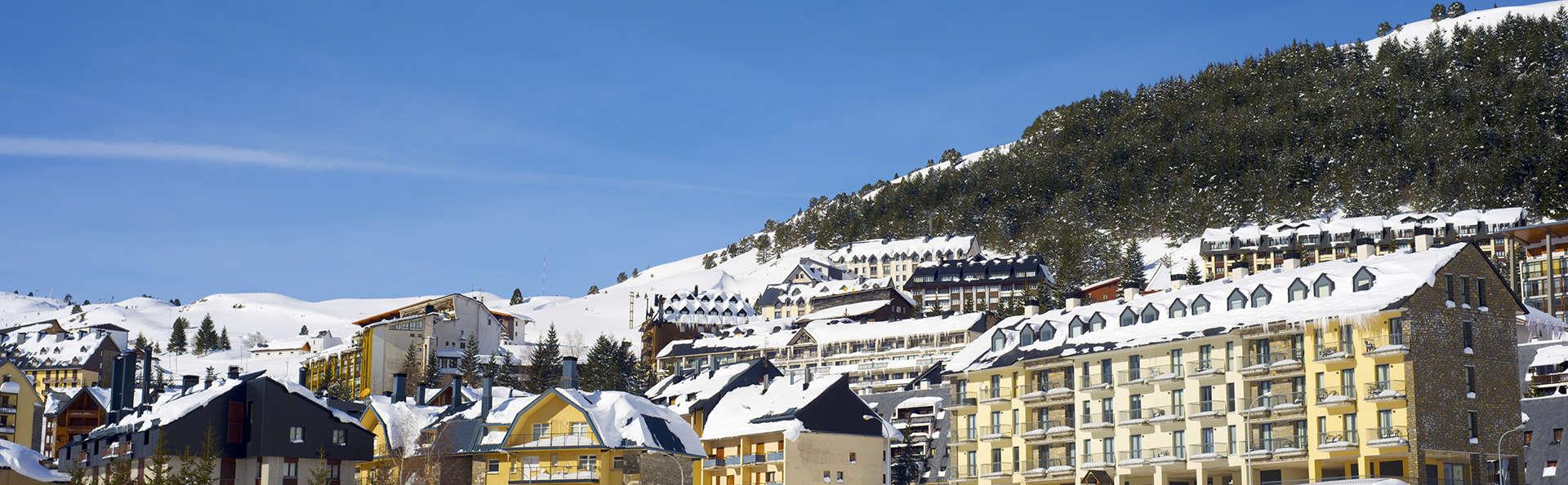 Esquí y spa para un finde completo en lel pirineo aragonés