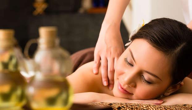 Détente et bien-être à Cortina d'Ampezzo avec accès au spa et massage relaxant
