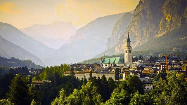 Nel cuore di Cortina d'Ampezzo in un hotel 4* a pochi metri dagli impianti di risalita