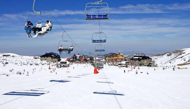 Escapade au coeur de Grenade et forfait ski pour la Sierra Nevada