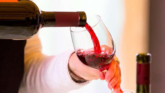 Copa de vino de la región para 2 adultos