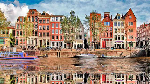 Recarga las pilas en Ámsterdam (desde 2 noches)