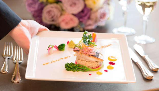 Gastronomía y relax en la Costa Brava: disfruta del Spa y de una cena romántica ¡Inolvidable!