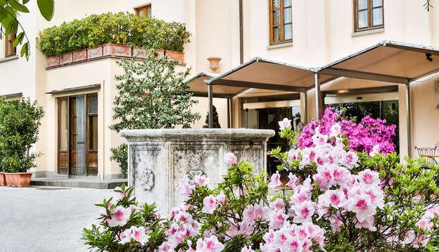 Romanticismo toscano en la Villa Gabriele D'Annunzio