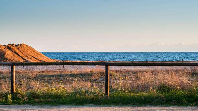 Sol y playa en Malgrat de Mar