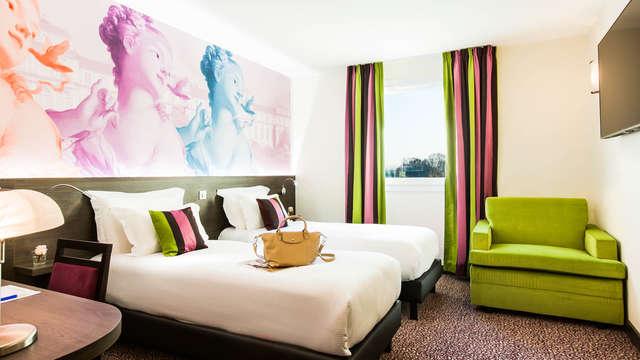 1 overnachting in een tweepersoons kamer comfort met meerzicht voor 2 volwassenen