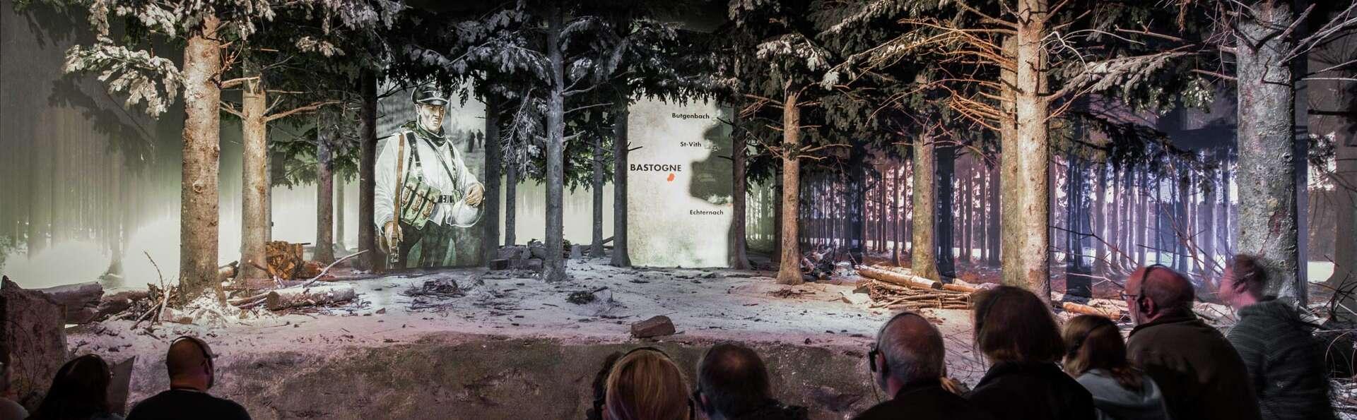 Estancia en el corazón de Ardenas con entradas para el Bastogne War Museum