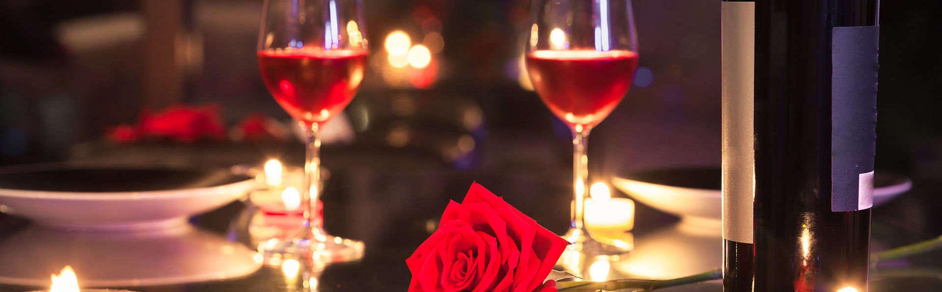 Romantiek met bubbels en diner in oud kasteel te Dinant