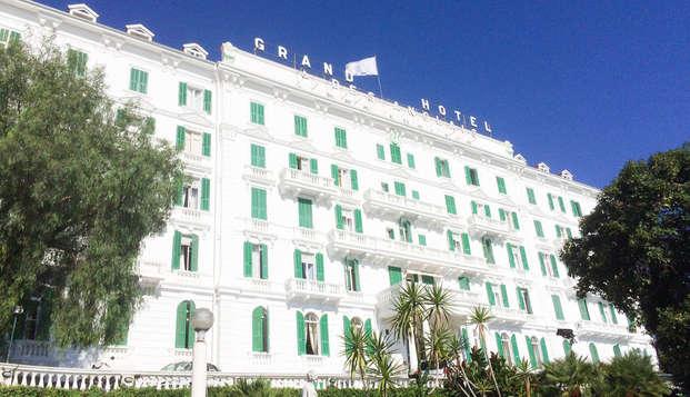 Weekend a Sanremo in camera superior in splendido hotel storico