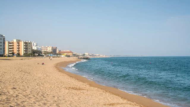 Sol y playa en Santa Susanna con tus hijos