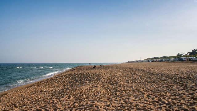Disfruta de las playas de Santa Susanna con toda la familia
