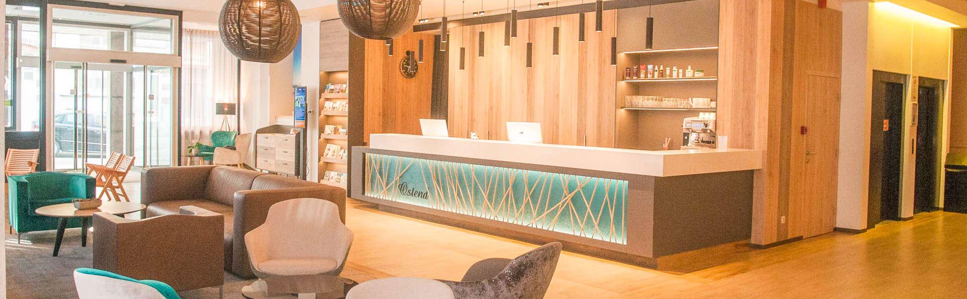 Bouffée d'air frais au bord de la mer avec un délicieux dîner et sauna privé (à partir de 2 nuits)