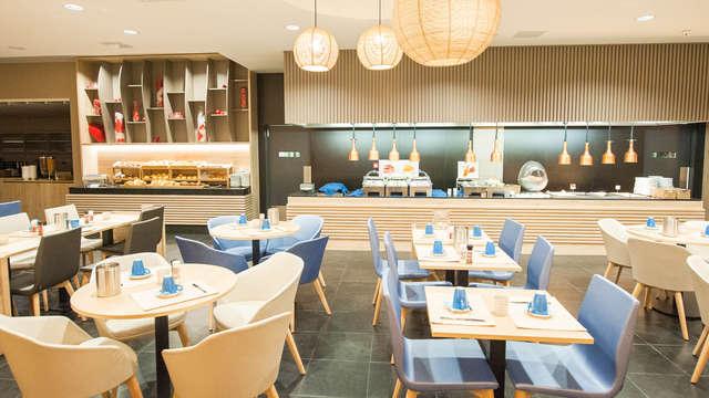 Escapada de encanto a la costa belga con cena y spa privado
