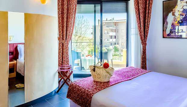 Quattro giorni di relax sul lungomare di Rimini