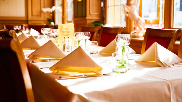Détente et bonne table dans un hôtel à l'allure de maison alsacienne