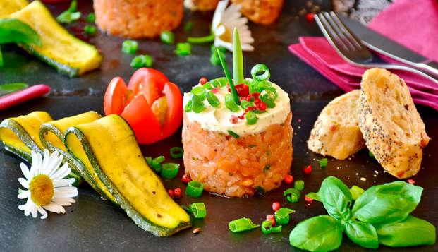 Uitje met een gastronomisch diner in een Feng-Shui retraite in Malaga