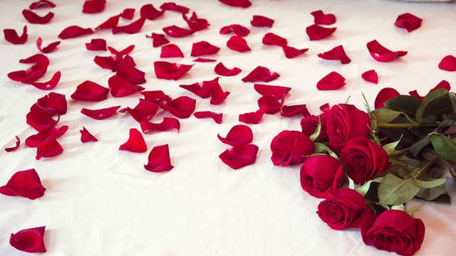 Ambiente romántico para 2 adultos