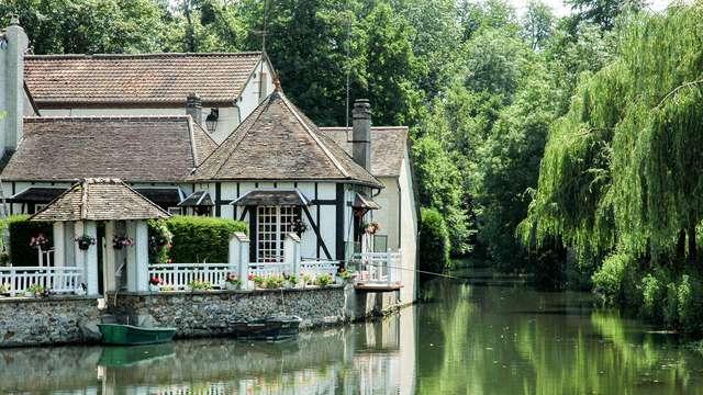 Pied-à-terre idyllique au bord de l'Eure